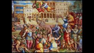 Папа Григорий XI входит в Рим