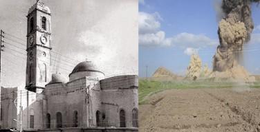 Боевики «Исламского государства» уничтожили католический храм в центре иракского Мосула