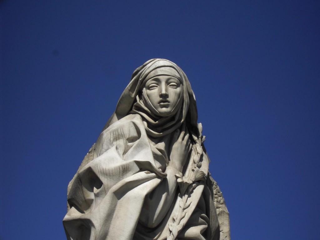 Монумент Святой Екатерины Сиенской