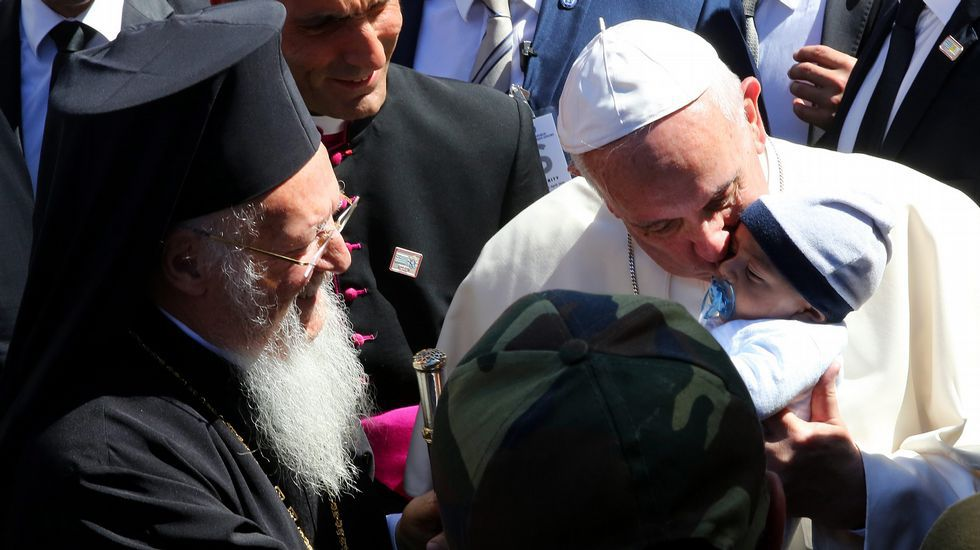 Почему Папа забрал с Лесбоса именно мусульман?