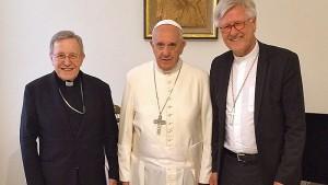 EKD-Ratsvorsitzender trifft Papst Franziskus