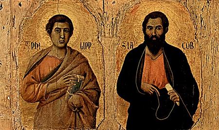 3 мая. Святые Филипп и Иаков Младший, апостолы. Праздник