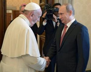 z18128657IH,Wladimir-Putin-u-papieza-Franciszka
