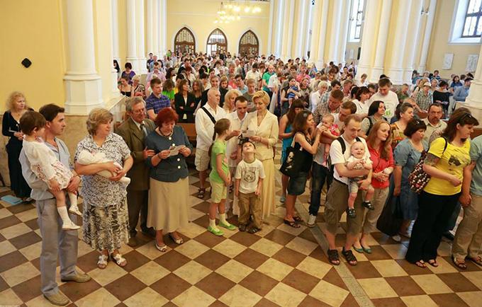 В Москве пройдет первая епархиальная встреча семей