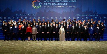 Послание Папы Франциска по случаю Всемирного саммита по гуманитарным вопросам