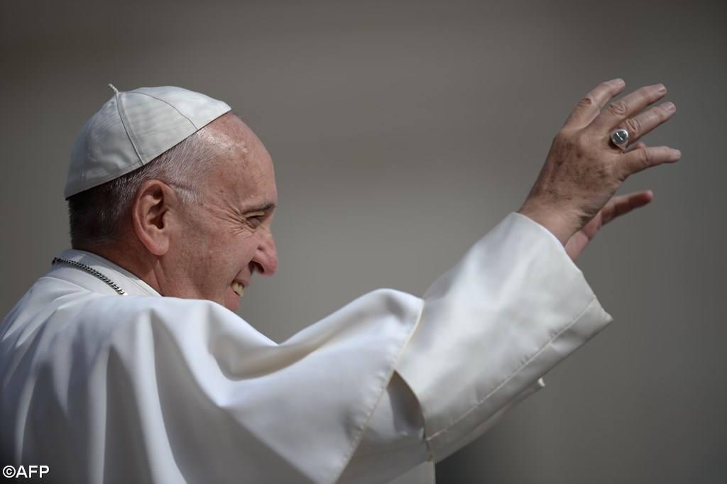 Папа Франциск пользовался языком жестов во время общей аудиенции (ФОТО)