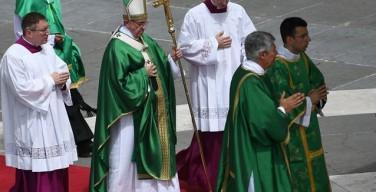 Папа призвал католиков и православных присоединиться к молитве сирийских детей о мире
