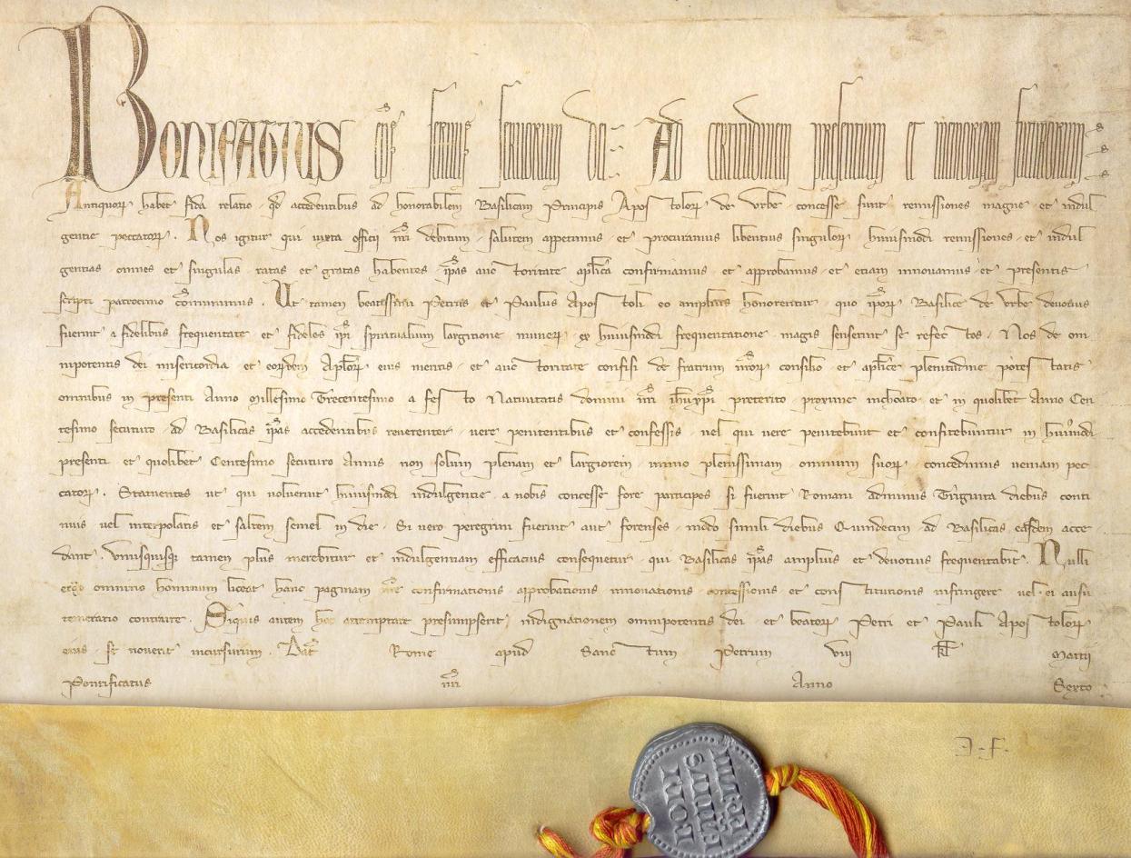 Рим: первая в истории выставка юбилейных булл из Секретного архива Ватикана