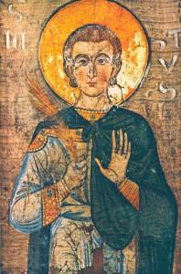 Икона св. Юстина Мученика