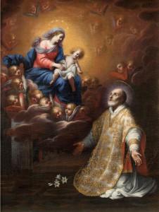 Святой Филипп Нери и Мадонна