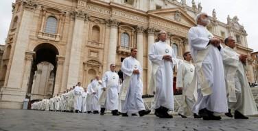 Папа Франциск возглавил Мессу, посвященную юбилею установления постоянного диаконата