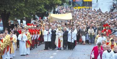 Поляки отмечают праздник Тела Господня