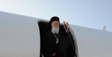 Патриарх Варфоломей прибыл на Крит для участия во Всеправославном Соборе