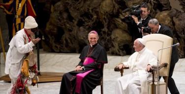 Встреча Папы Франциска с участниками Юбилея бродячих артистов