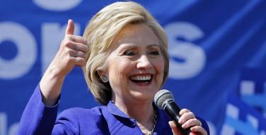 Первая женщина-кандидат в президенты США