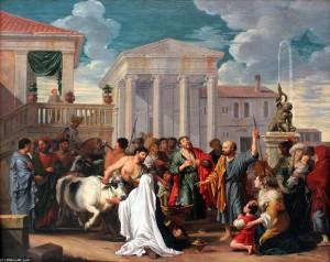Проповедь Павла и Варнавы в Листре