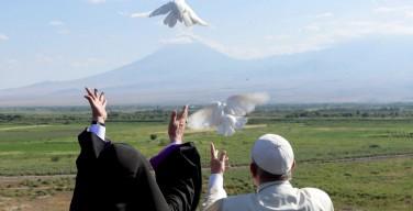 Завершился визит Папы Франциска в Армению