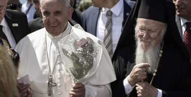 Папа Франциск призвал католиков и православных к сотрудничеству