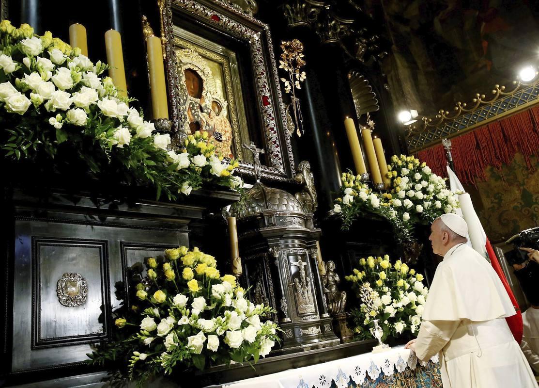 Папа Франциск в Ченстохове: тяга к величию – трагическое искушение, стиль Бога – близость и смирение