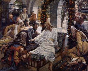 Джеймс Тиссо. Иисус в Вифании