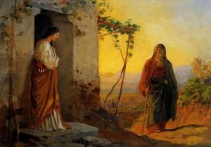 Марфа встречает Иисуса