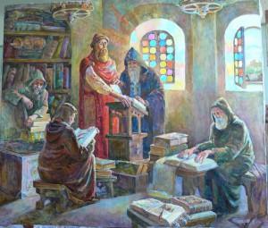 Книжное дело в Киевской Руси