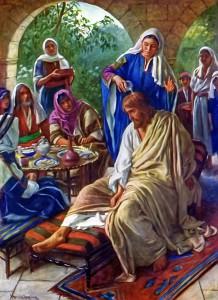 Иисус в Вифании