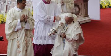 Ломбарди: Папа сказал, что это не больно, когда он упал