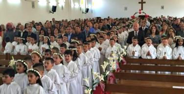 Ирак: несмотря на угрозы «Исламского Государства» 100 детей приняли первое причастие