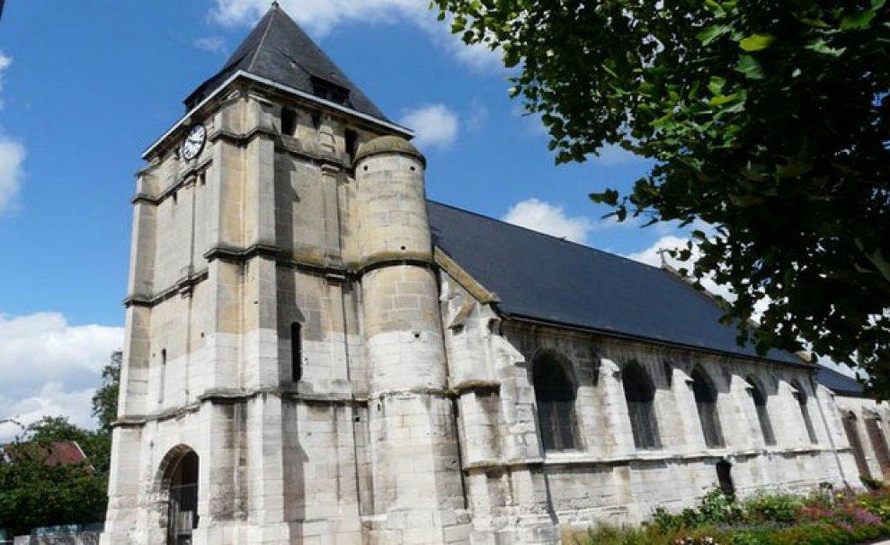 СМИ: церковь под Руаном, где в июле произошел теракт, откроется в октябре