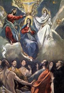 Эль Греко. Увенчание Пресвятой Девы Марии
