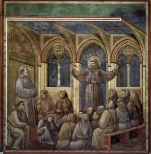 Франциск и сестры-кларисски
