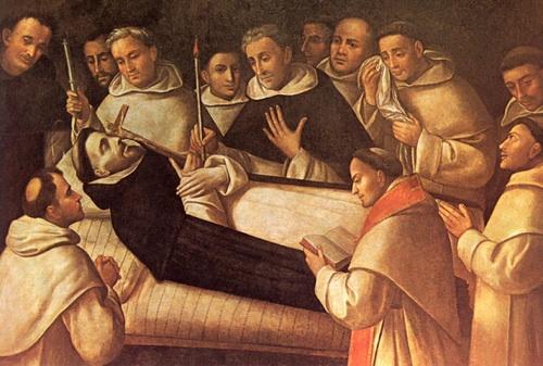 Смерть святого Доминика