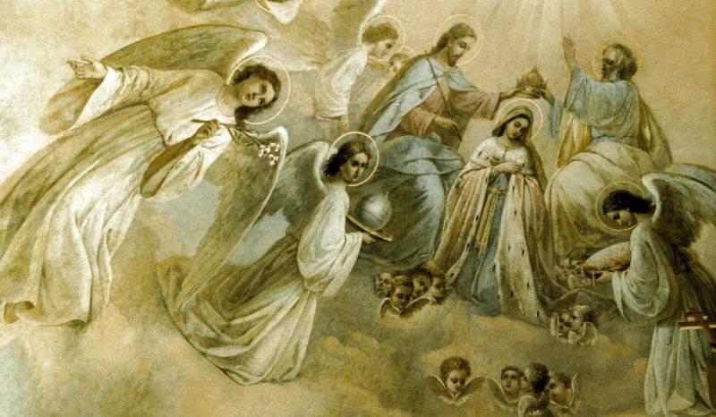 22 августа. Пресвятая Дева Мария Царица. Память