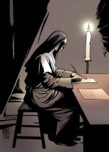 Клара пишет письма