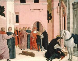 Святой Доминик воскрешает Наполеона Орсини