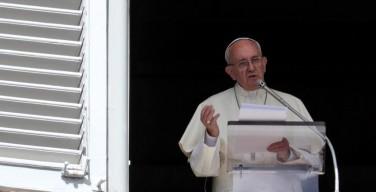 Слово Папы перед молитвой Angelus18 сентября. «Коррупция подобна наркотической зависимости»