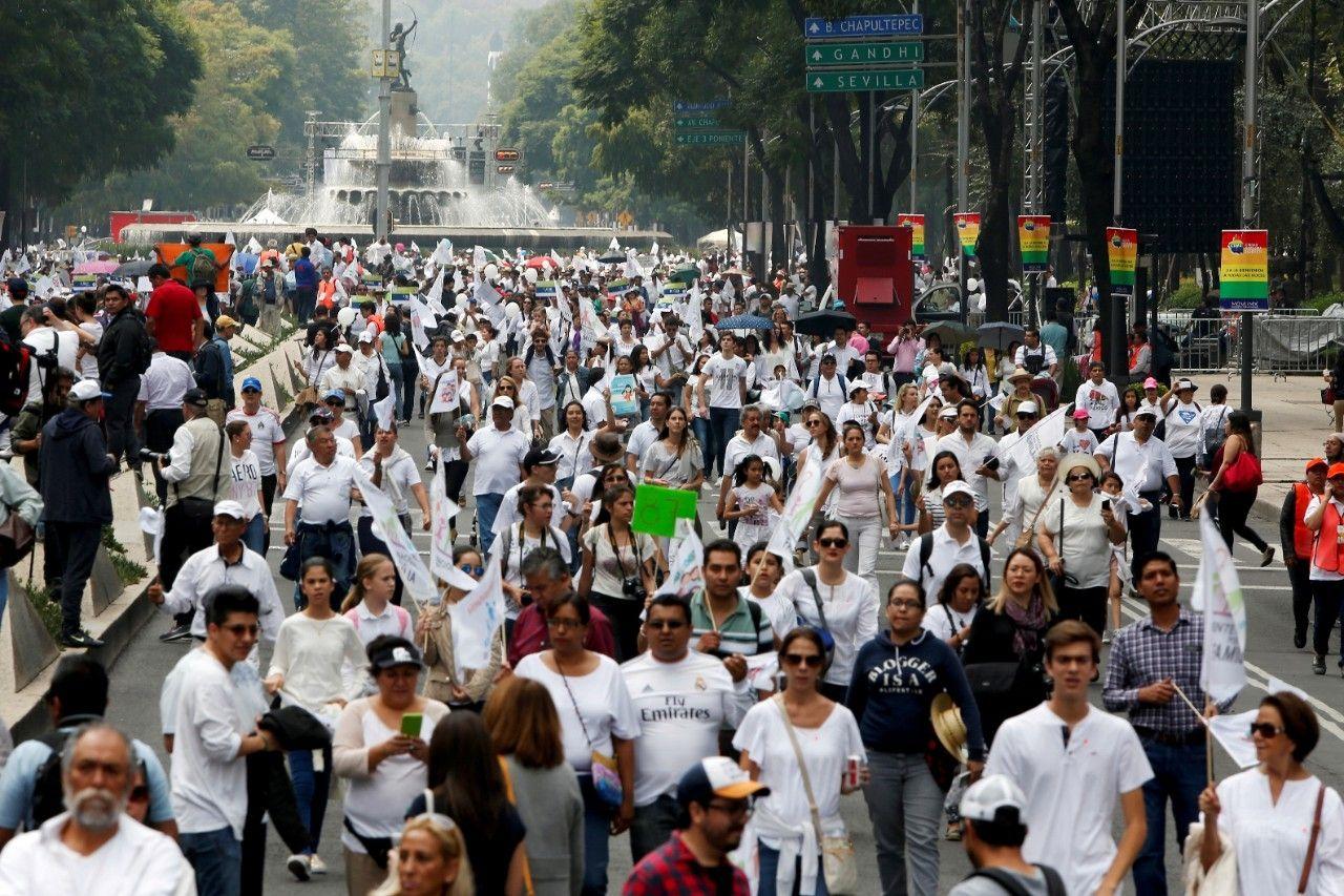 Папа поддержал протест мексиканцев против легализации однополых «браков»