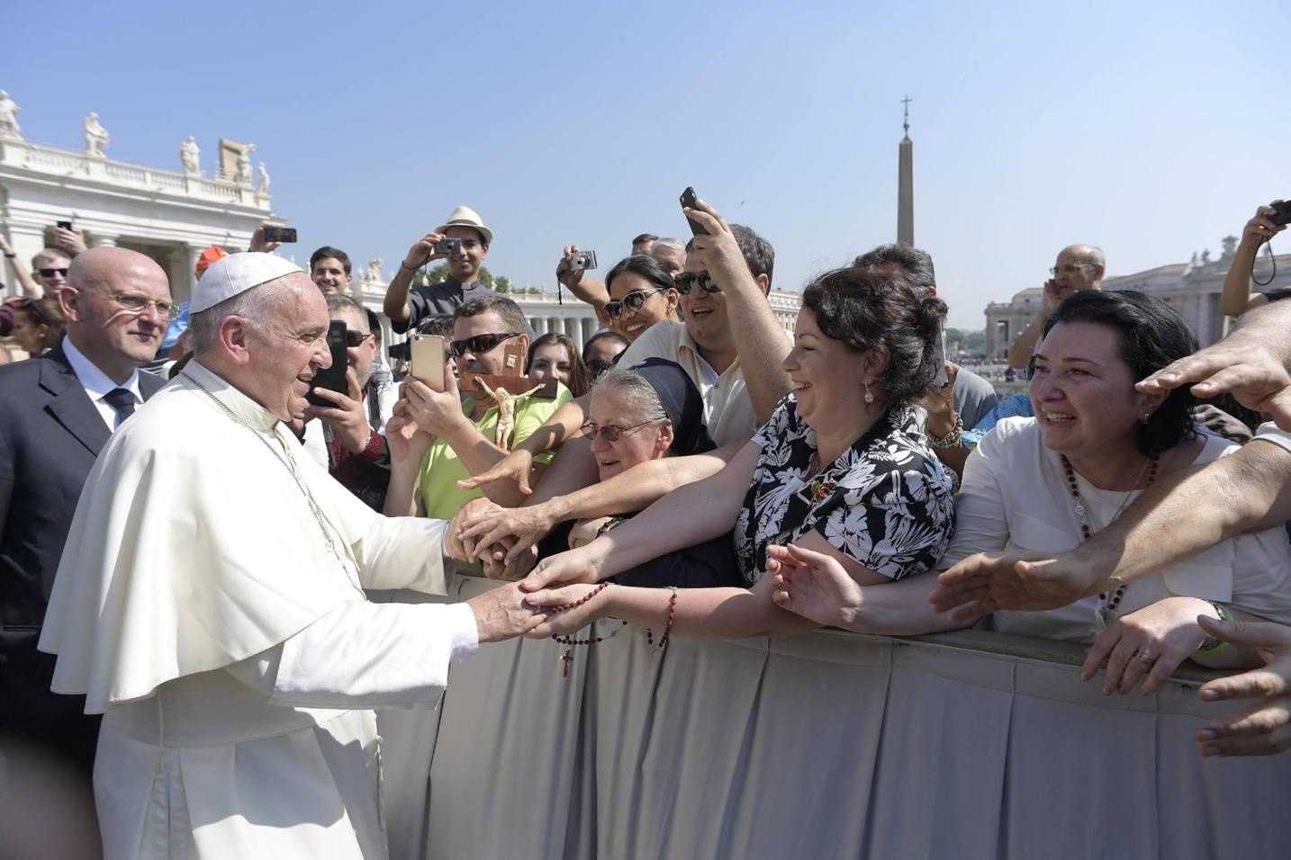 Межъепархиальное паломничество в Рим: на площади Св. Петра 14.09.2016