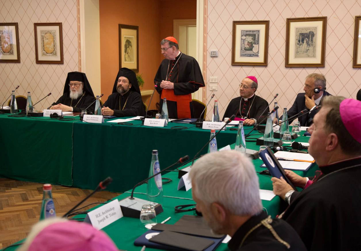 Одобрен документ смешанной комиссии по диалогу между католиками и православными