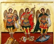 29 сентября. Святые Архангелы Михаил, Гавриил и Рафаил. Праздник