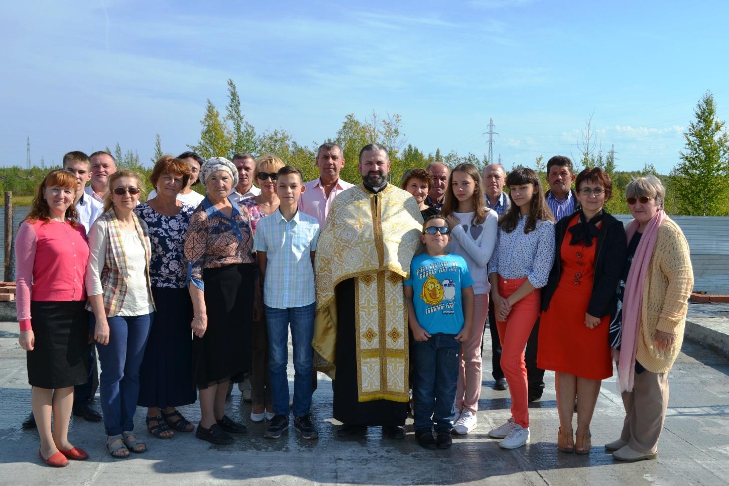 Продолжается строительство греко-католического храма в Нижневартовске
