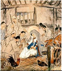 Проповедь Христа в Корее