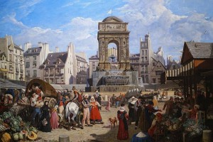 Париж 16 века