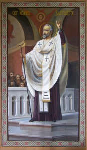 Иоанн Златоуст проповедует