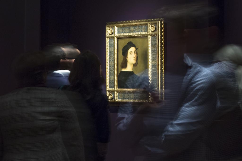 APTOPIX Russia Raphael Exhibition