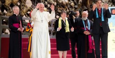 Папа — лютеранам: свидетельствовать сообща о Божьем милосердии
