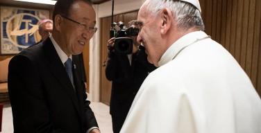 Пан Ги Мун: ООН и Святейший Престол вместе могут сделать немало на благо человечества