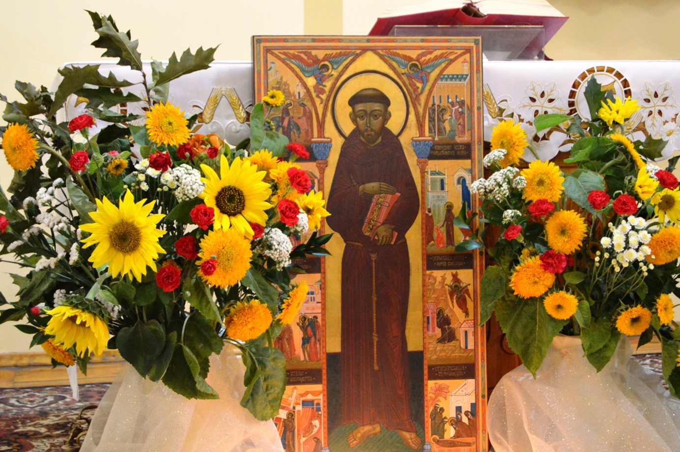 Праздник святого Франциска, день рождения епископа, Pater Seraficus, Pax et Bonum, Laudato si' и многое другое