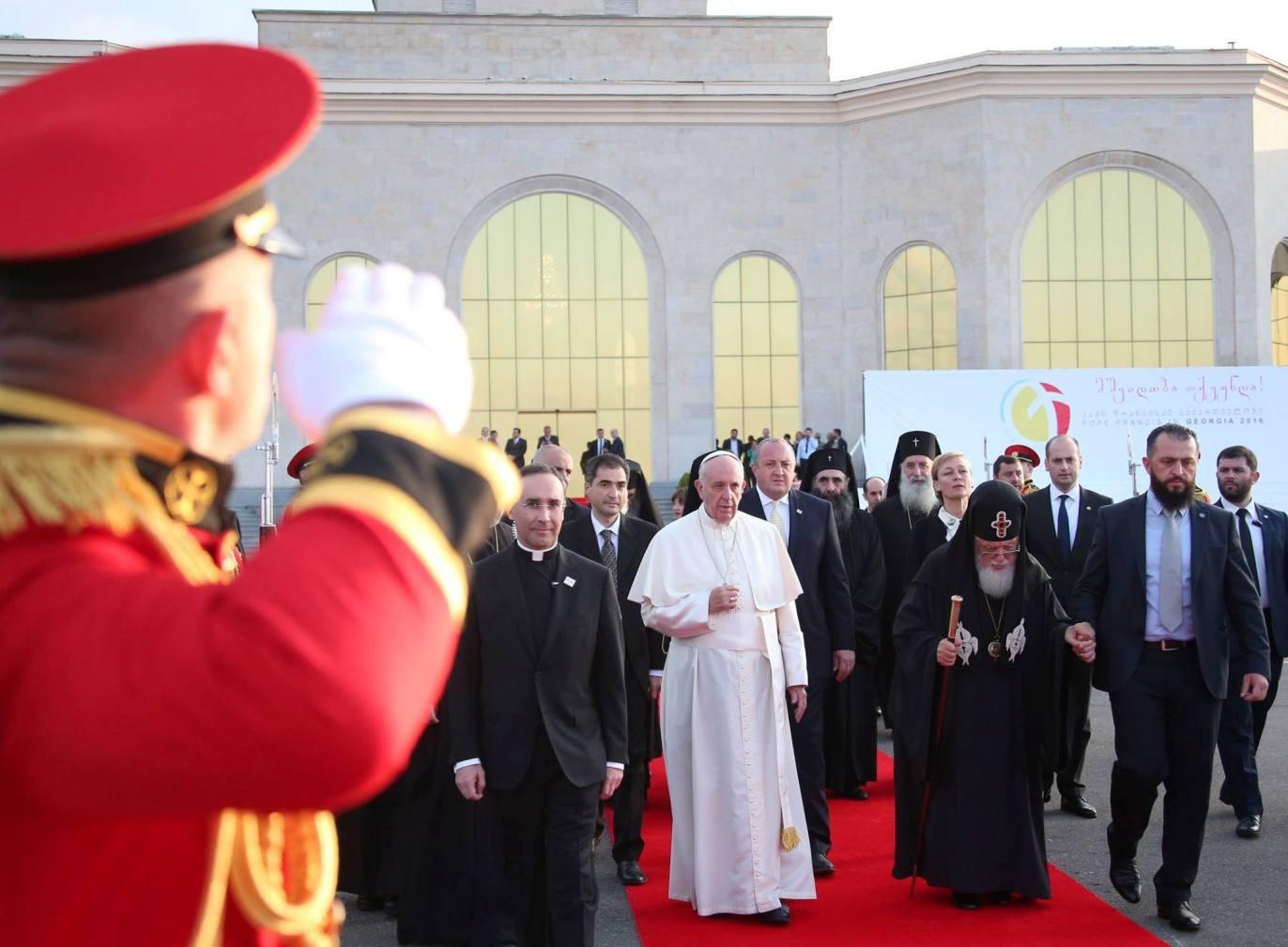 Папа Франциск в Тбилиси: «Прозелитизм – грех против экуменизма»